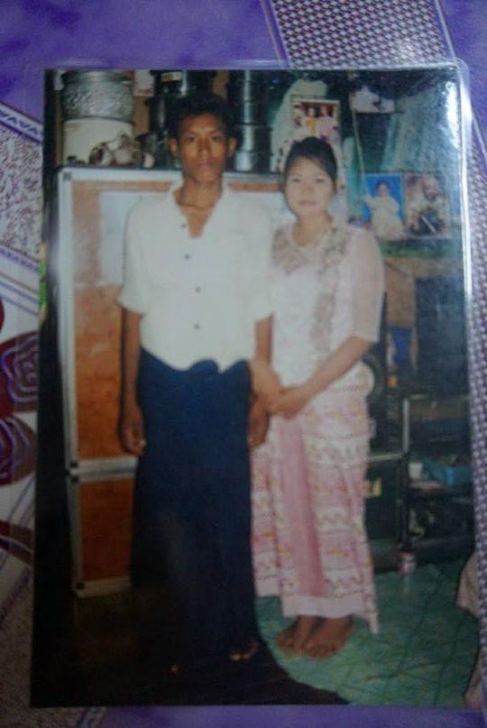 ミャンマーの結婚式の写真