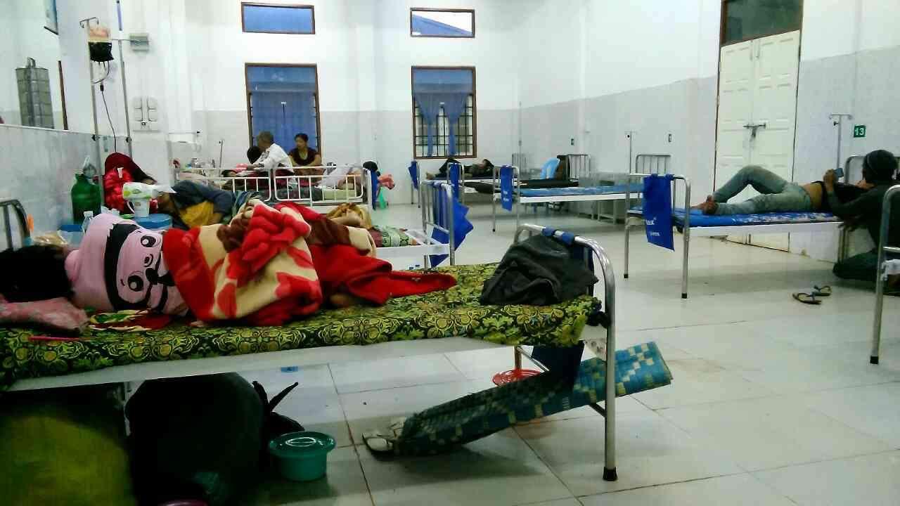 ミャンマーの地方病院