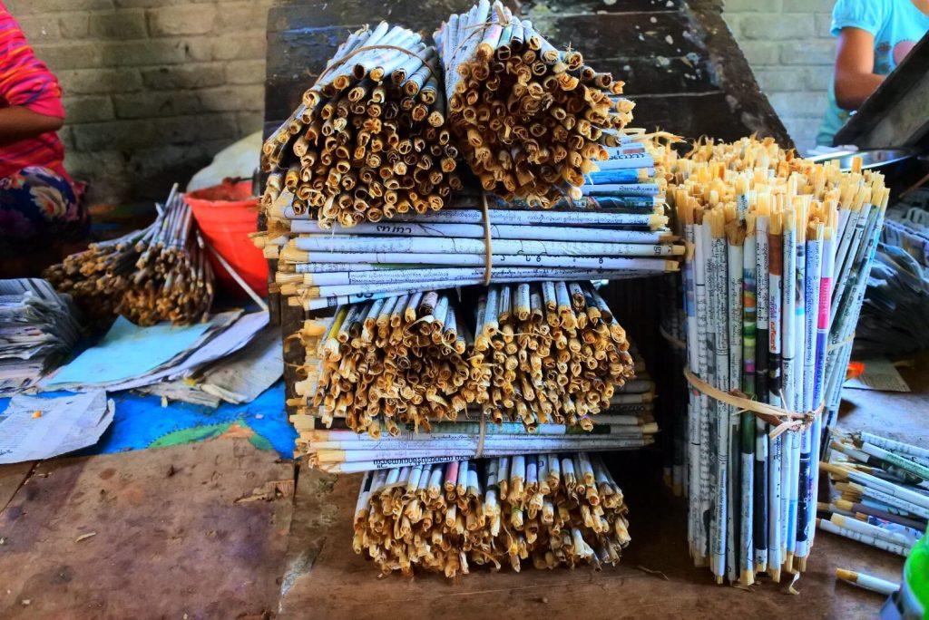ミャンマーの葉巻フィルター