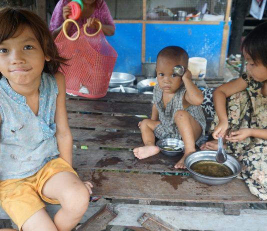 ミャンマーの子どもたち