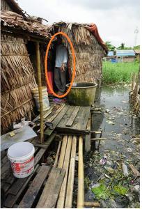 スラムの家
