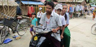 バイク登校