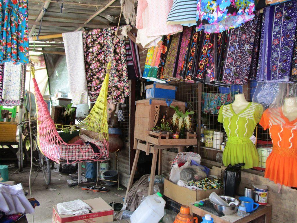 ミャンマーの仕立屋