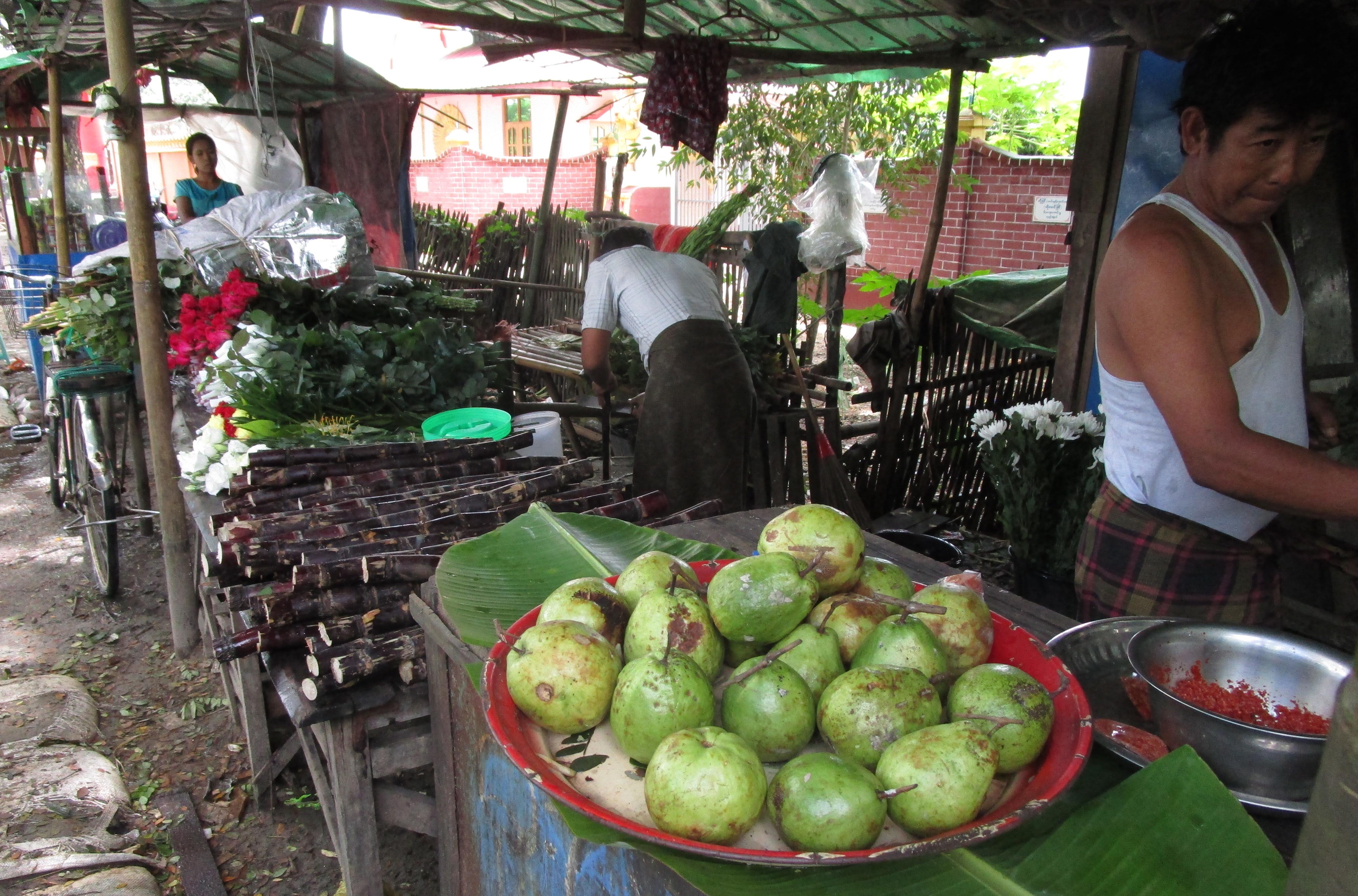 ミャンマー-お店