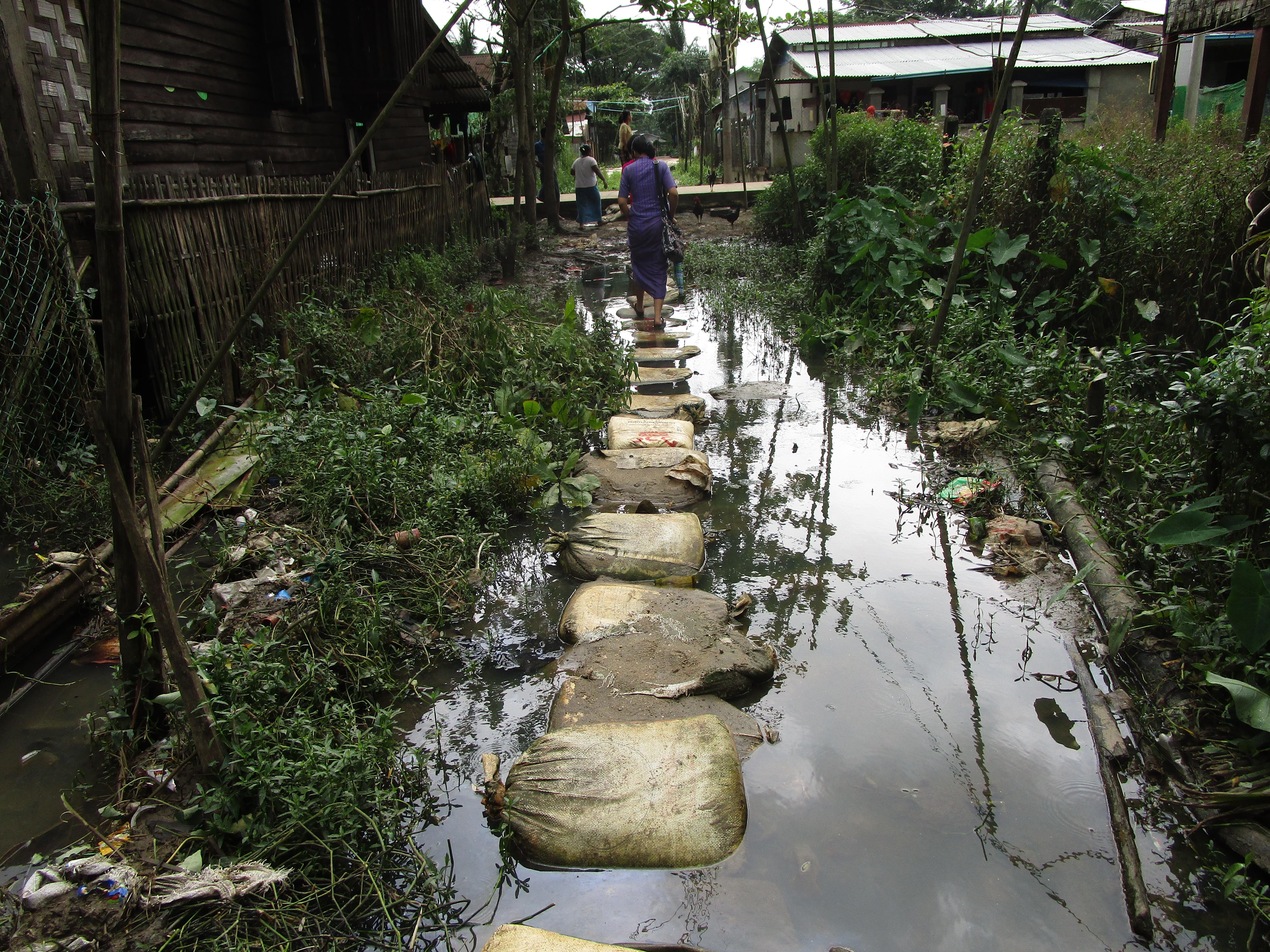 ミャンマー-道