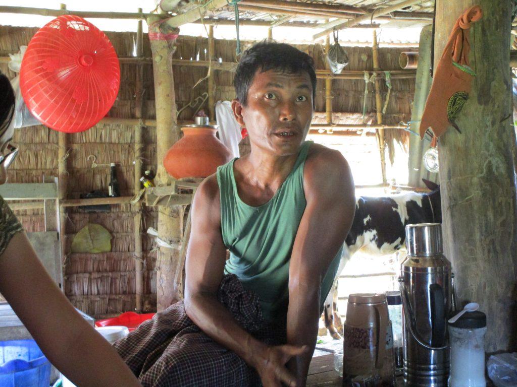 ミャンマー人のお父さん