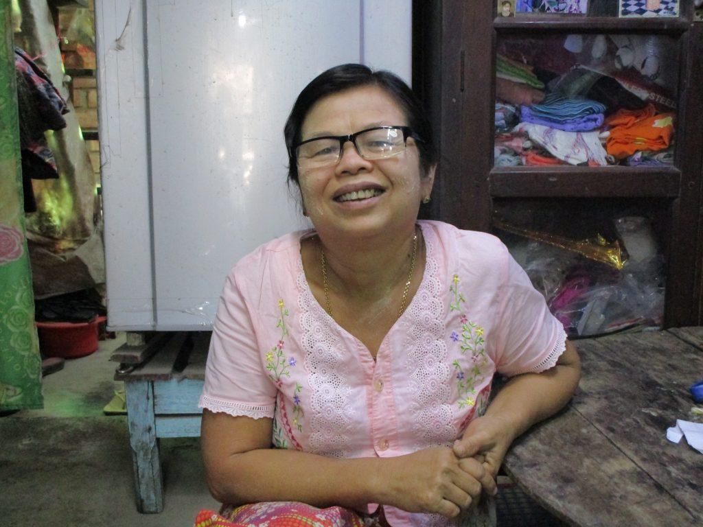 ミャンマーのお母さん