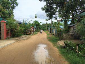 ミャンマー郊外の一角