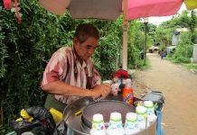 ミャンマーのアイス屋さん