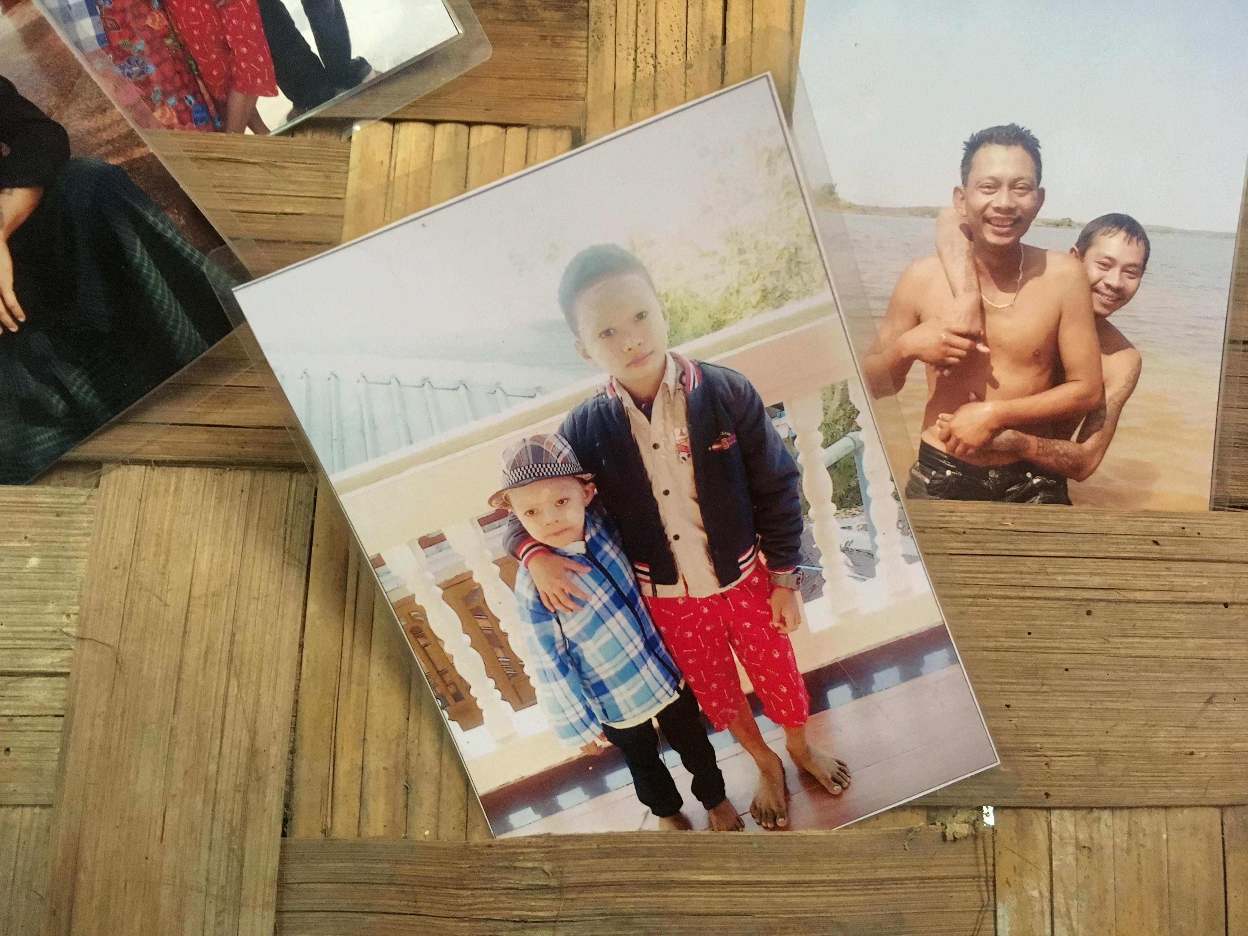 息子たちの写真