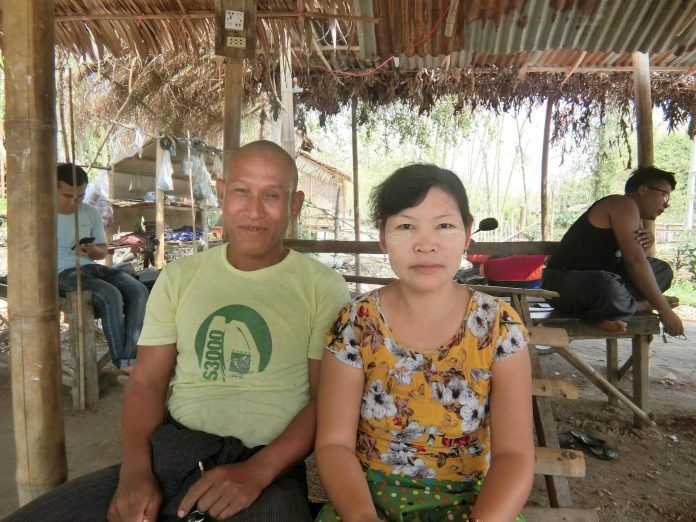 夫パンさんと妻サンさん