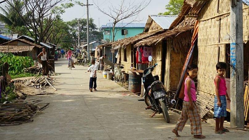 ミャンマー_スラム